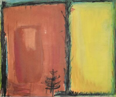 Dusti Bongé, 'Untitled (Orange and Yellow Rectangles)', 1961
