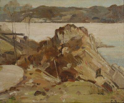 George Gardner Symons, 'Harborside', ca. 1910