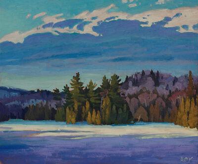 Réjean Roy, 'L'île du Lac Smallian', 2018