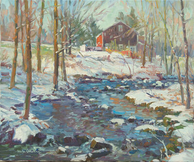 Mike Graves, 'Barn Beyond the Stream', 2021