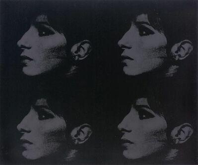 Deborah Kass, '4 Black Barbras (Jewish Jackie Series)', 1993