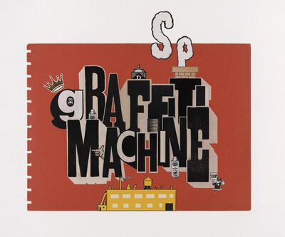 Greg Lamarche, 'Graffiti Machine', 2011