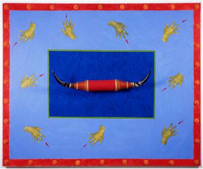 Ofelia Rodríguez, 'Floating landscape with horns', 1993
