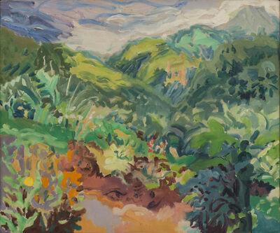 Nell Blaine, 'Garden and Font des Serpents, St. Lucia', 1965