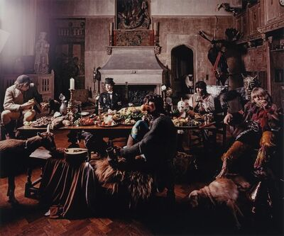 Michael Joseph, 'Rolling Stones, Beggars Banquet, Keith with Orange, London'