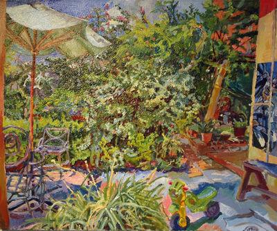 Jenny Toth, 'Backyard on Tenerias', 2018
