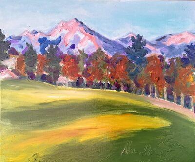 Norma de Saint Picman, 'Paintings summer 2019 - plein air in situ paintings ; Mountains, Gorenjska region....', 2019