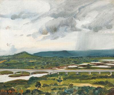 Maurice van Essche, 'Bridge over the Lualaba River, Congo'