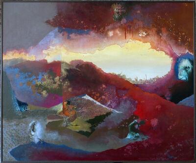 Suzanna Hart-Broughton, 'Crimson Labyrinth', 1983