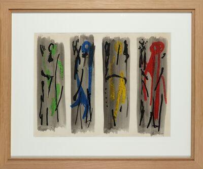 John Piper, 'Four Figures', 1960-1990