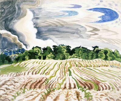 Charles Ephraim Burchfield, 'Clearing Sky', 1917