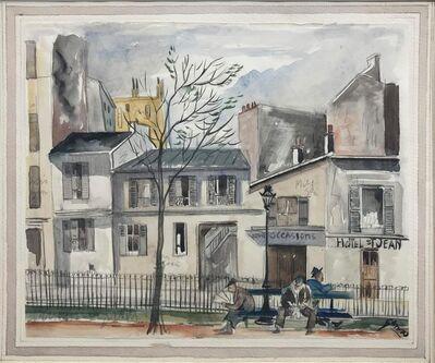 Emil Ganso, 'Montparnasse (Study for the print)', circa 1922