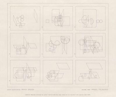 Manuel Felguérez, '104 Designs', 1975