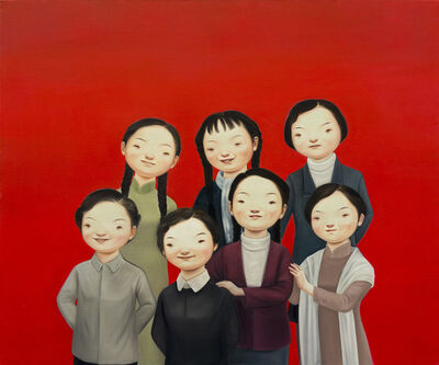 Lin Hairong, 'In Their Prime 1980', 2017