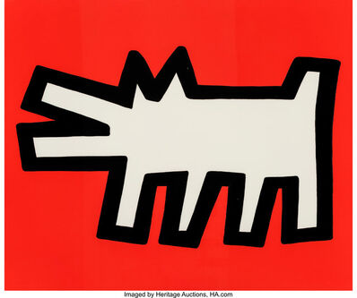 Keith Haring, 'Untitled, from Icons', 1990