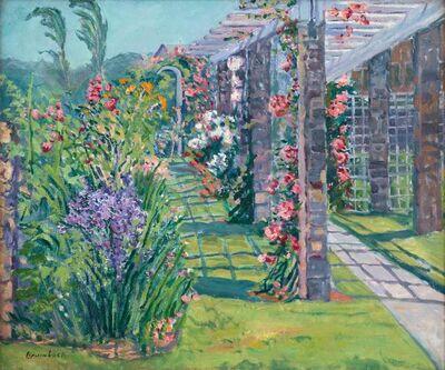 Louise Upton Brumback, 'The Garden Trellis', 19th -20th Century