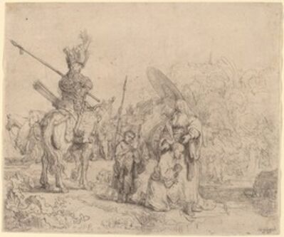 Rembrandt van Rijn, 'The Baptism of the Eunuch', 1641
