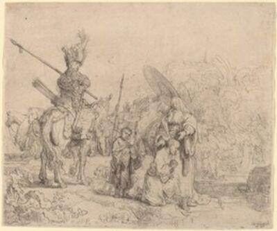 Rembrandt van Rijn, 'The Baptism of the Eunuch', 1641