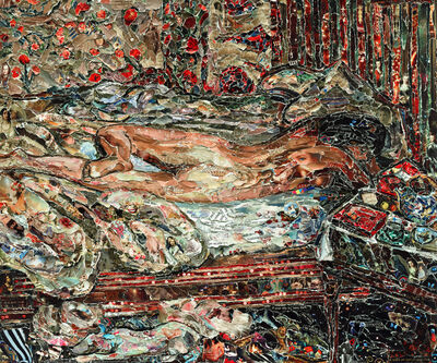 Vik Muniz, 'Siesta, after Bonnard', 2011