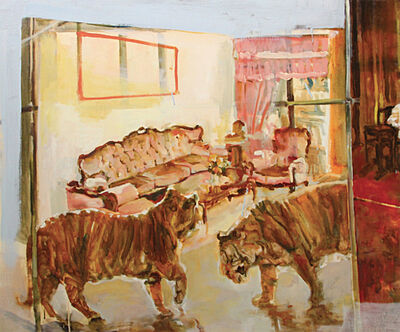 Hilmi Johandi, 'Great World City; Two Tigers in a Room', 2016-17