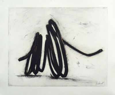 Bernar Venet, 'Indeterminate Line I', 2016