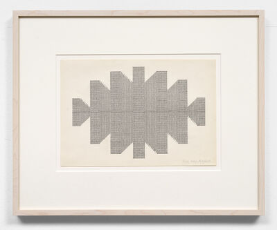 Ruth Wolf-Rehfeldt, 'Untitled (Concrete Architecture)', ca.  late 1970s