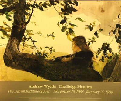 Andrew Wyeth, 'The Helga Pictures, Detroit Institute of Arts, November 15, 1988-January 22, 1989. In conjuction with National Gallery of Art, Washington DC.', 1986
