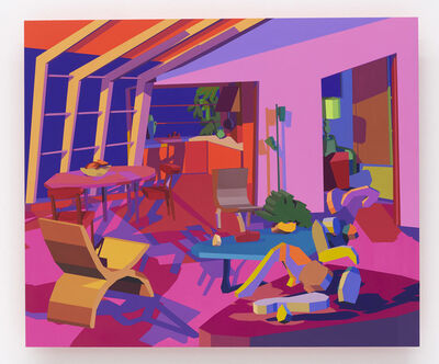 Jonathan Chapline, 'Constructed Interior (Open Concept)', 2018