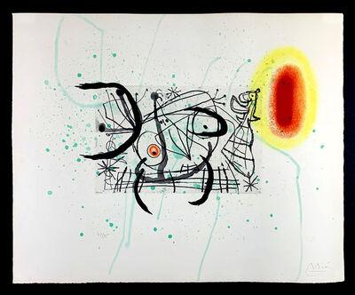 Joan Miró, 'Fissure 11, 1969', 1969