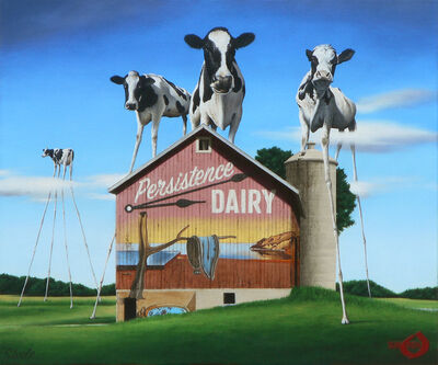 Ben Steele, 'The Persistence of Dairy', 2020
