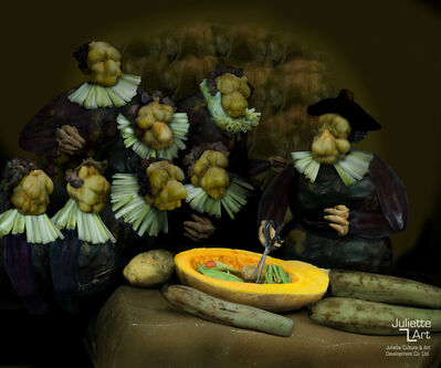 Ju Duoqi, 'The Anatomy Lesson of Dr. Pickled Cabbage ', 2008