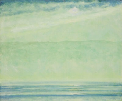 Jane Wilson (1924-2015), 'Green Palisade', 1997