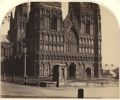 Roger Fenton, 'Lichfield Cathedral from the North-west', 1858