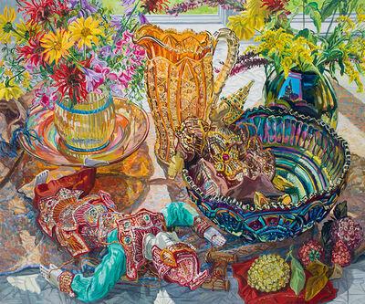 Janet Fish, 'Sequins', 2003