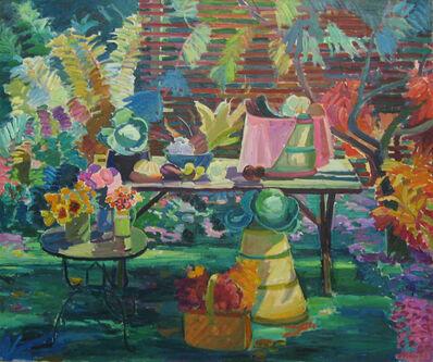 Joseph O'Sickey, 'Autumn Still Life with Trellis '