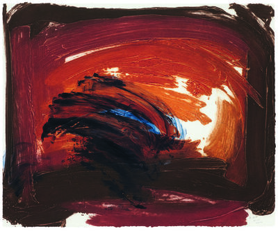 Howard Hodgkin, 'Storm cloud', 2014