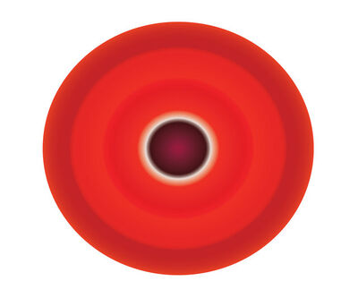 Ruth Adler, 'Red Circle', 2020