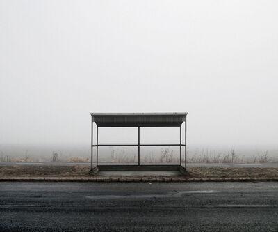 Tamas Dezso, 'Bus Stop (North-East Hungary, 2011)', 2011