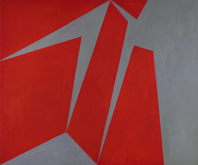 Lorser Feitelson, 'Magical Space Forms', 1954