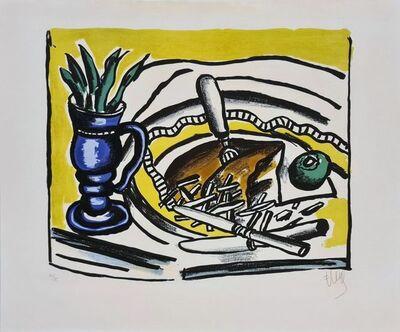 Fernand Léger, 'Nature morte au vase bleu ', 1951