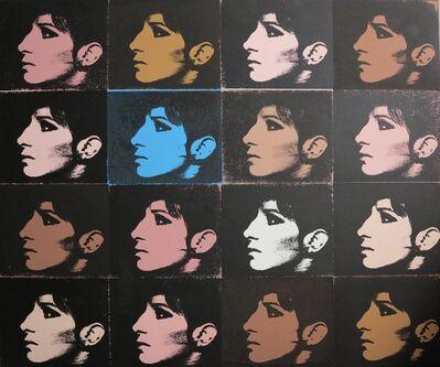 Deborah Kass, '16 Barbras (Jewish Jackie Series)', 1992