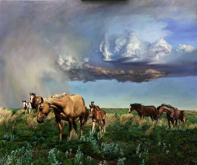 Jeff Dodd, 'Rodeo Stock - Mothers and Babies', 2020