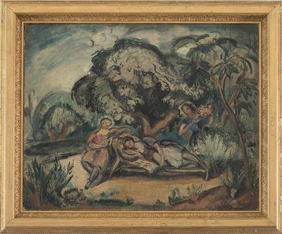 Emile Othon Friesz, 'Women on Garden', S.f