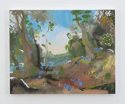 Karen Kilimnik, 'the jungle planet in winter', 2016