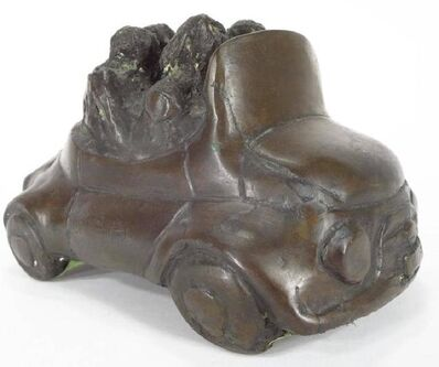 John Kearney, 'Auto with 4 Passengers, Bronze Playful Sculpture', 20th Century
