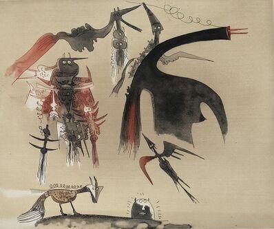 Wifredo Lam, 'Lames de Lam 1', 1977