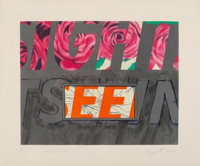 James Rosenquist, 'Sight-Seeing', 1972