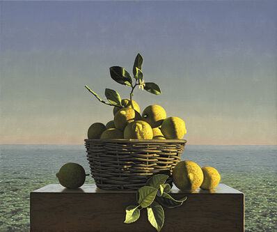 David Ligare, 'Still Life with Lemons', 2019