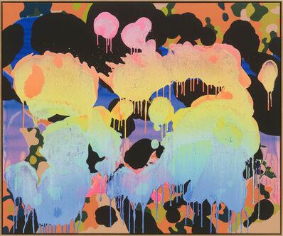 Christine Streuli, 'Deserted valley_03', 2019