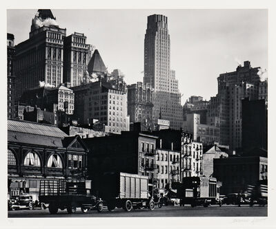 Berenice Abbott, 'West Street', 1929, 30, printed later